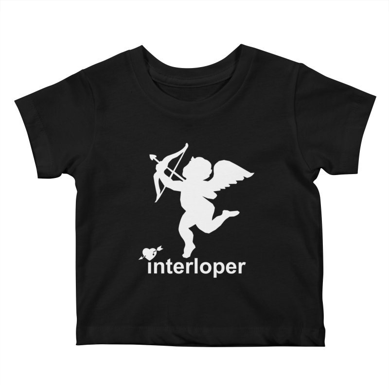 Interloper Kids Baby T-Shirt by Toxic Onion