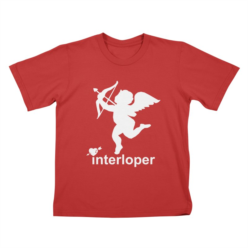 Interloper Kids T-Shirt by Toxic Onion