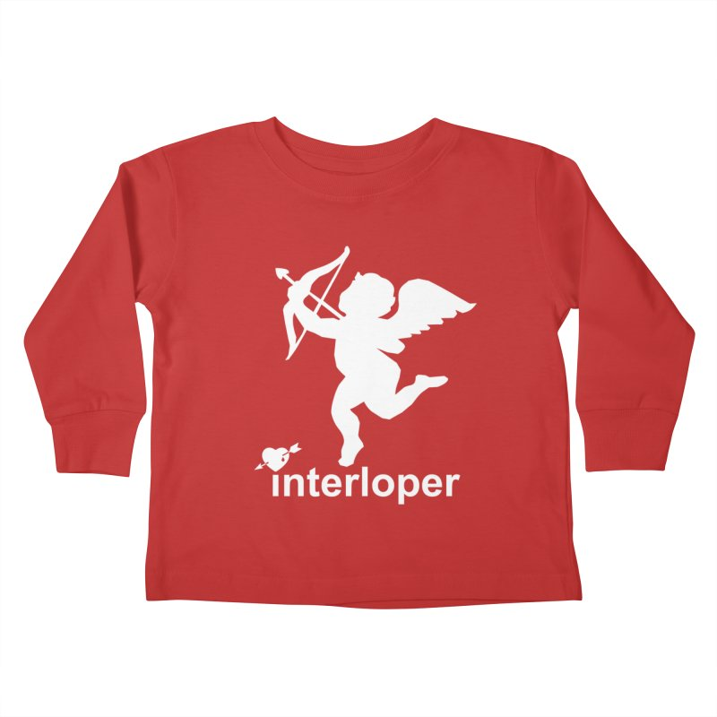 Interloper Kids Toddler Longsleeve T-Shirt by Toxic Onion