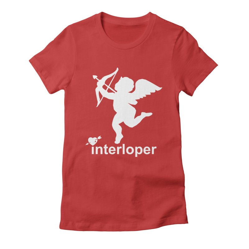 Interloper Women's Fitted T-Shirt by Toxic Onion