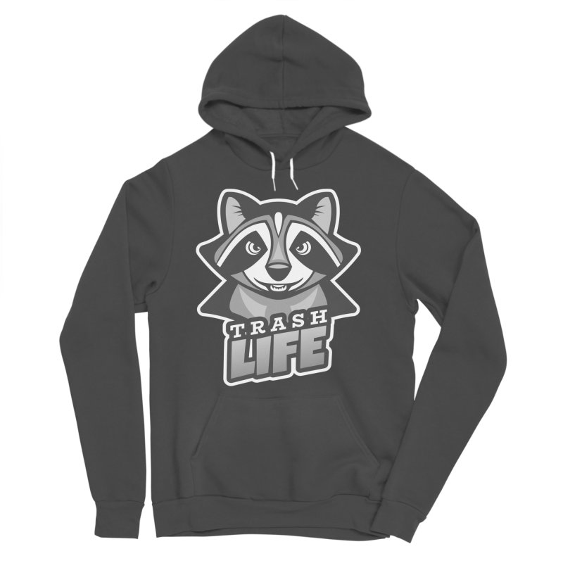 Trash Life Men's Sponge Fleece Pullover Hoody by Toxic Onion