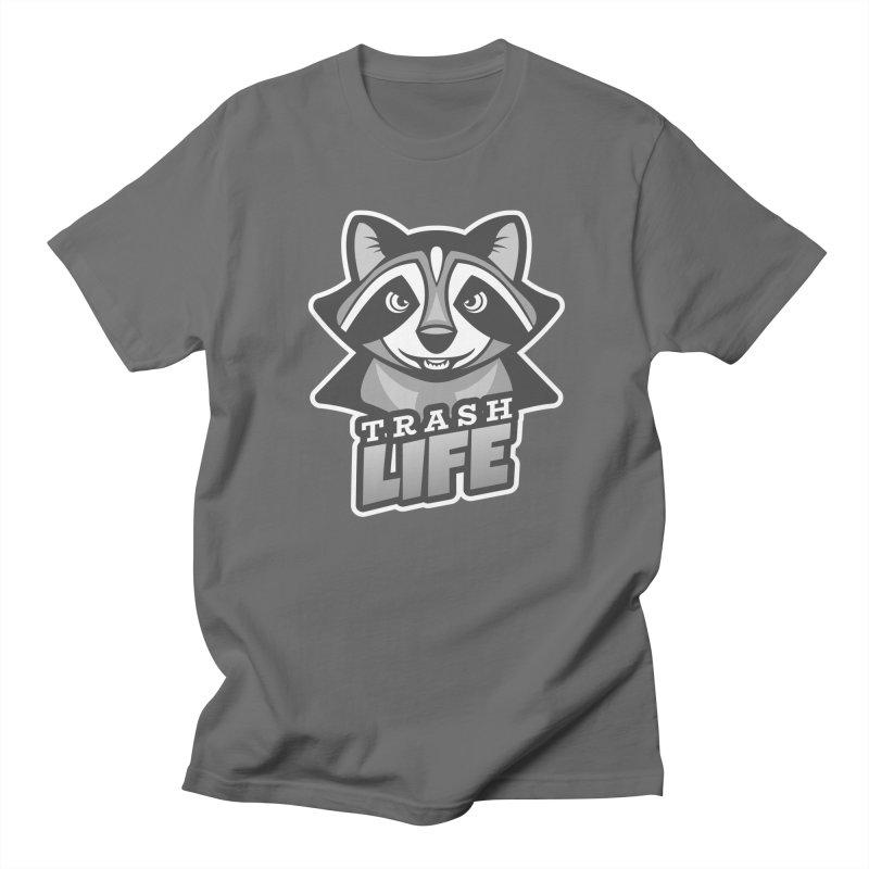 Trash Life Women's Regular Unisex T-Shirt by Toxic Onion