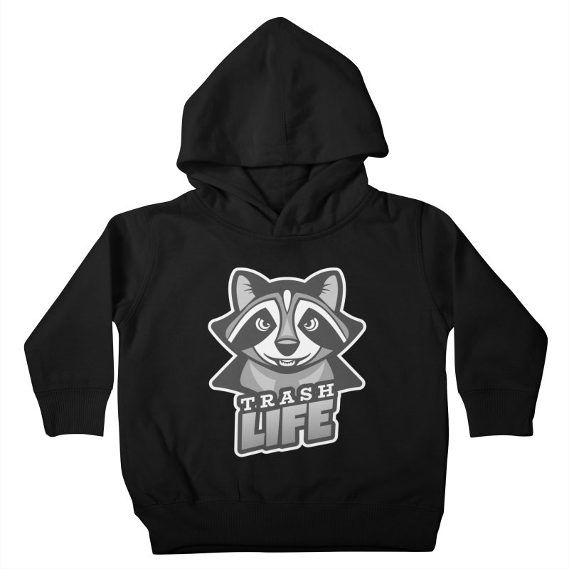Trash Life Kids Toddler Pullover Hoody by Toxic Onion
