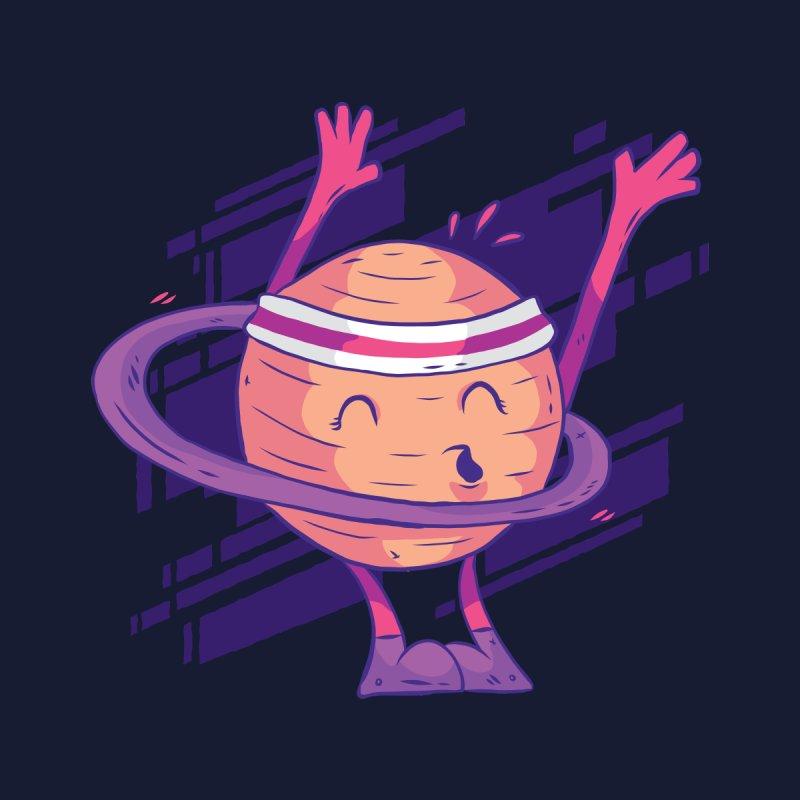 Planet Hula Hoop Men's T-Shirt by Toxic Onion