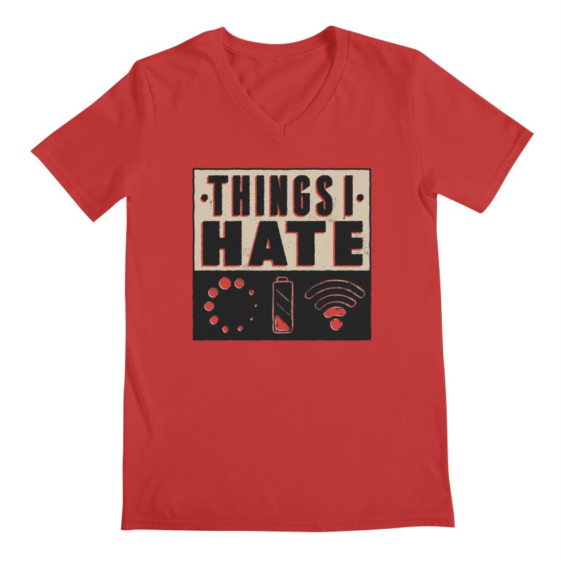 Things I Hate Men's V-Neck by Toxic Onion - A Popular Ventures Company