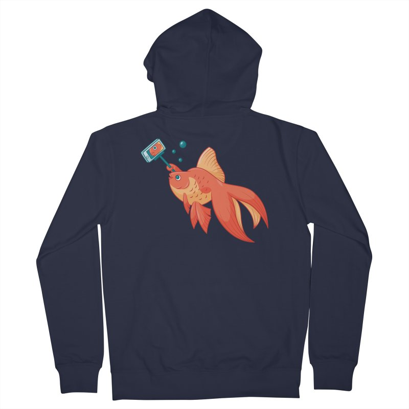 Selfish Men's French Terry Zip-Up Hoody by Toxic Onion