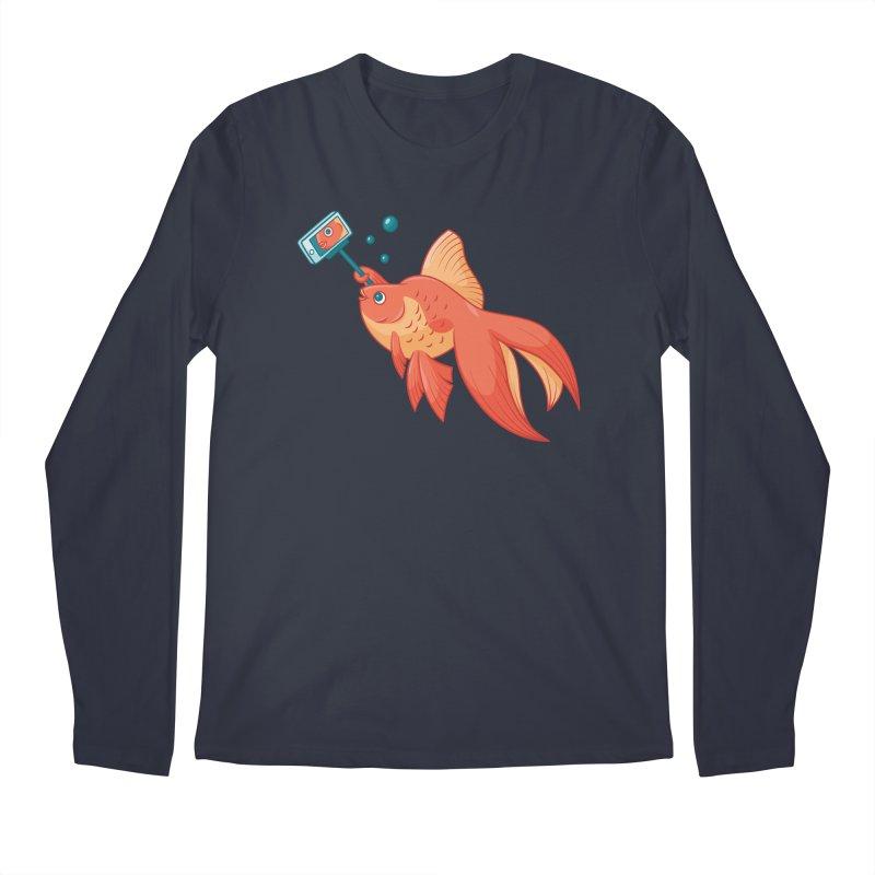 Selfish Men's Regular Longsleeve T-Shirt by Toxic Onion