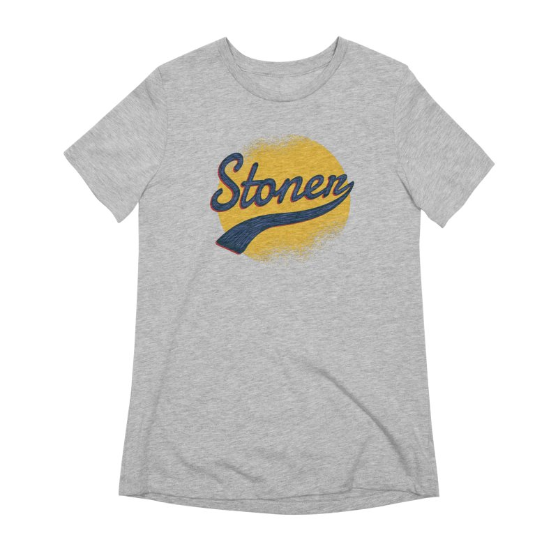 Stoner Women's Extra Soft T-Shirt by Toxic Onion