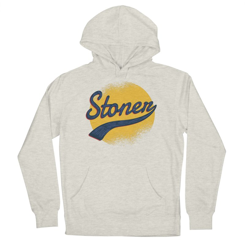 Stoner Men's French Terry Pullover Hoody by Toxic Onion