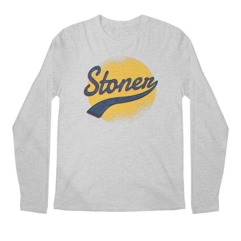 Stoner Men's Regular Longsleeve T-Shirt by Toxic Onion