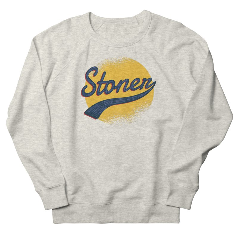 Stoner Men's French Terry Sweatshirt by Toxic Onion
