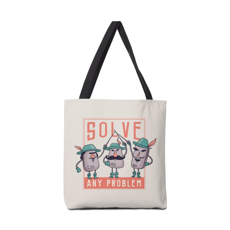 Solve Any Problem Accessories Bag by Toxic Onion