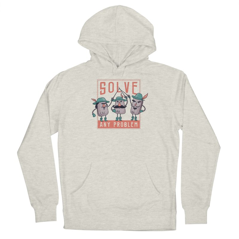 Solve Any Problem Men's Pullover Hoody by Toxic Onion