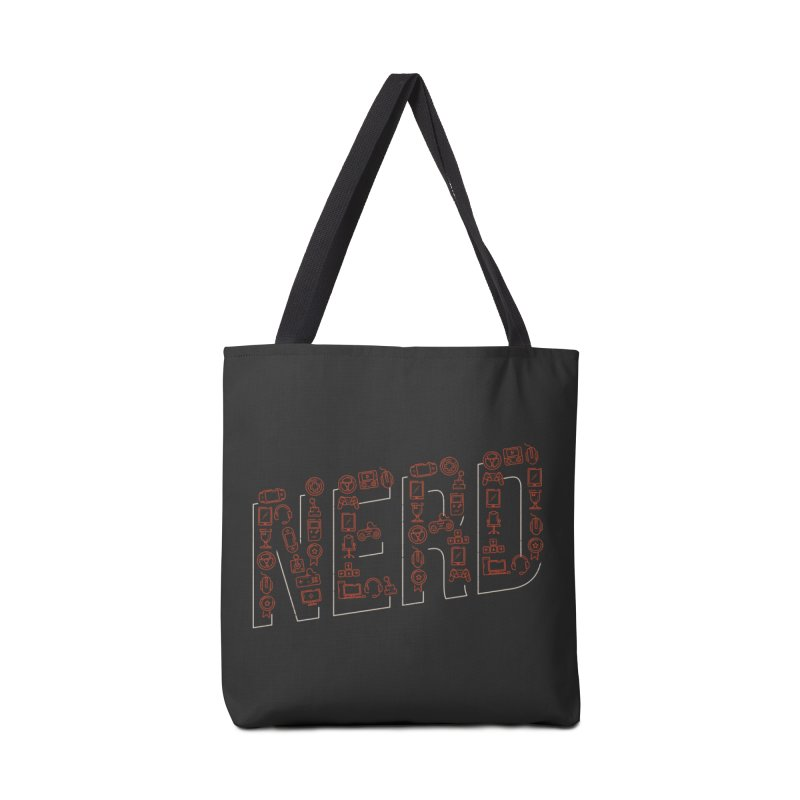 Nerd Accessories Bag by Toxic Onion