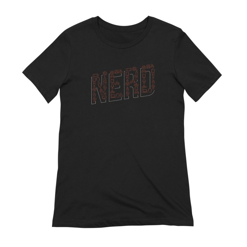 Nerd Women's T-Shirt by Toxic Onion
