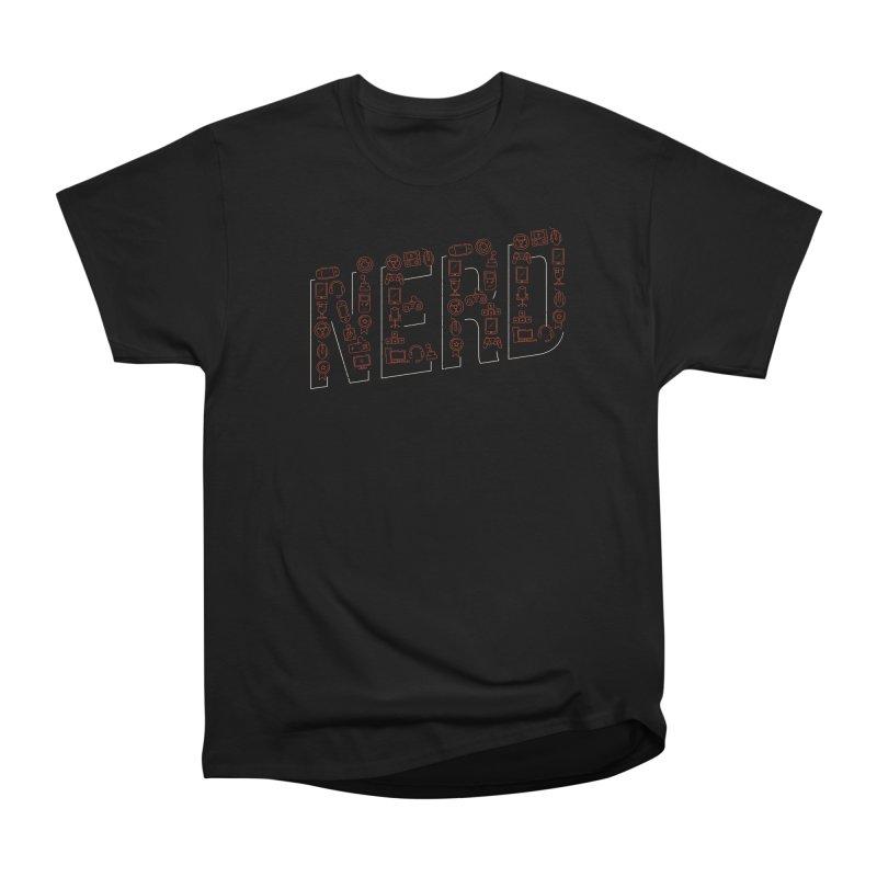 Nerd Men's T-Shirt by Toxic Onion