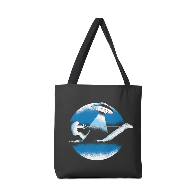 Cryptid Water Skiing Accessories Tote Bag Bag by Toxic Onion