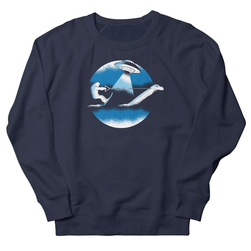 Cryptid Water Skiing Men's Sweatshirt by Toxic Onion
