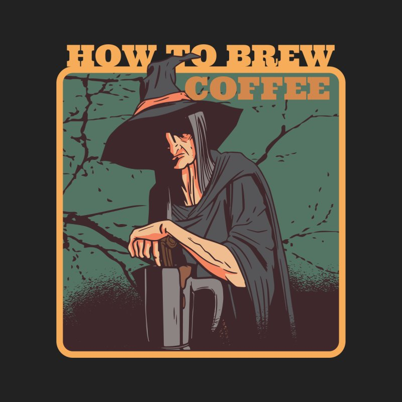 How To Brew Coffee Men's T-Shirt by Toxic Onion