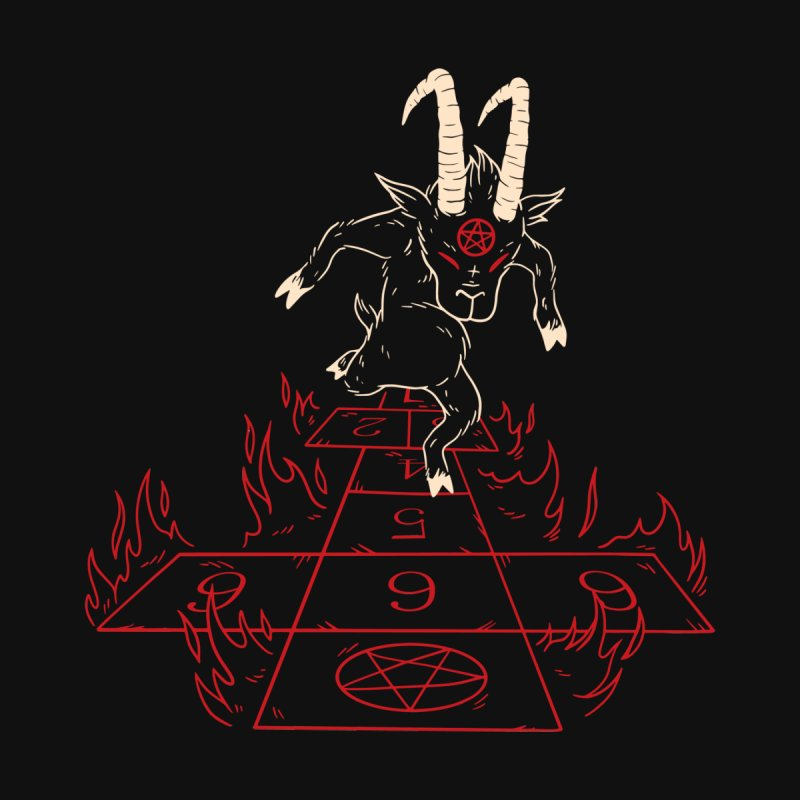 Hopscotch To Hell Men's T-Shirt by Toxic Onion