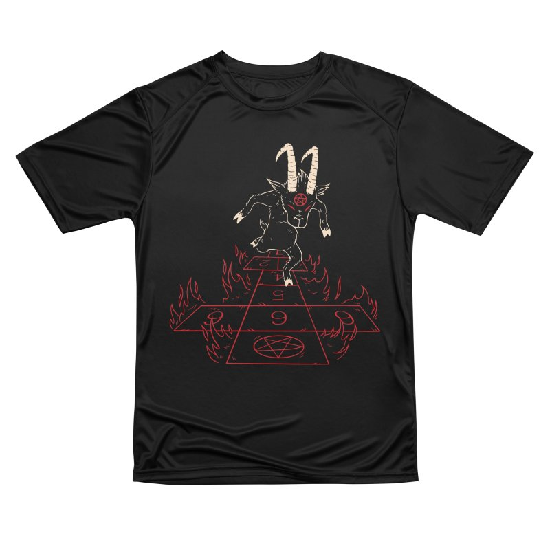 Hopscotch To Hell Men's Performance T-Shirt by Toxic Onion