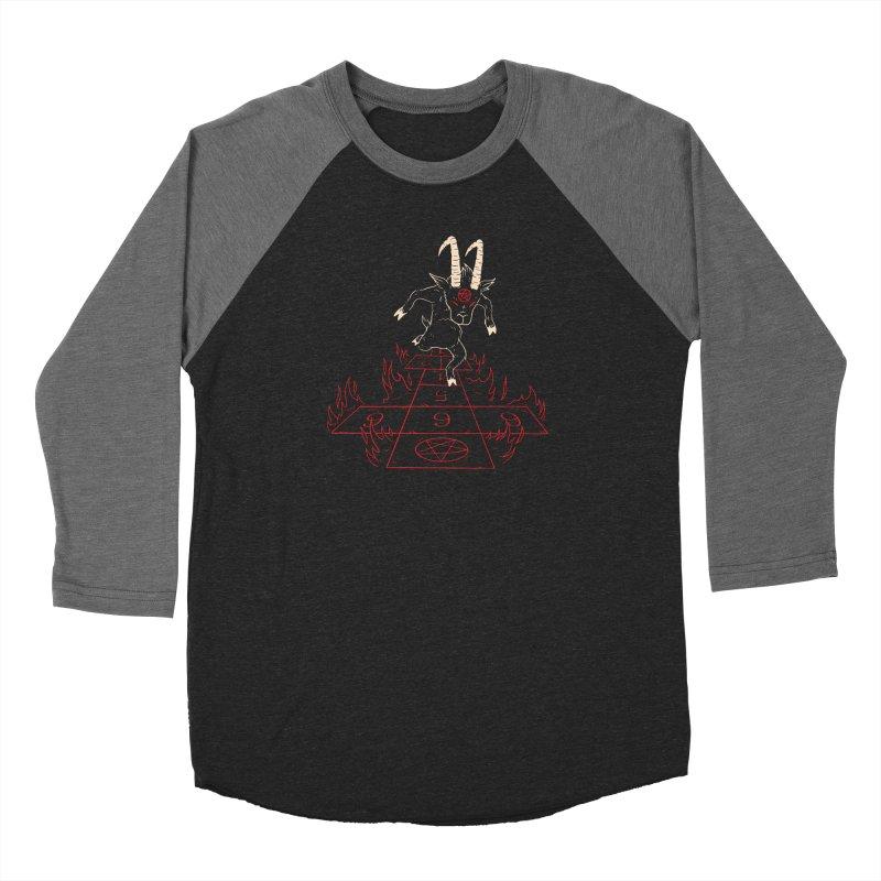 Hopscotch To Hell Men's Baseball Triblend Longsleeve T-Shirt by Toxic Onion