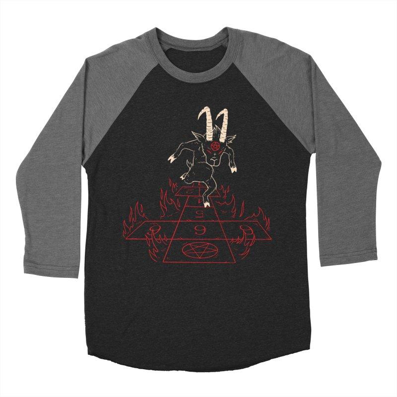 Hopscotch To Hell Women's Baseball Triblend Longsleeve T-Shirt by Toxic Onion