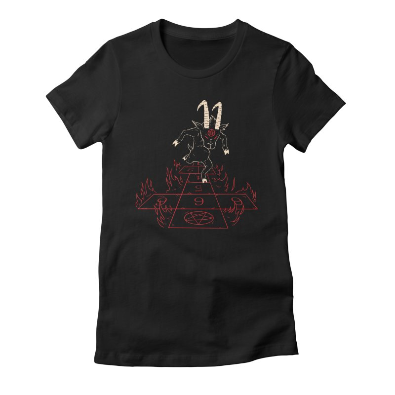 Hopscotch To Hell Women's T-Shirt by Toxic Onion - A Popular Ventures Company