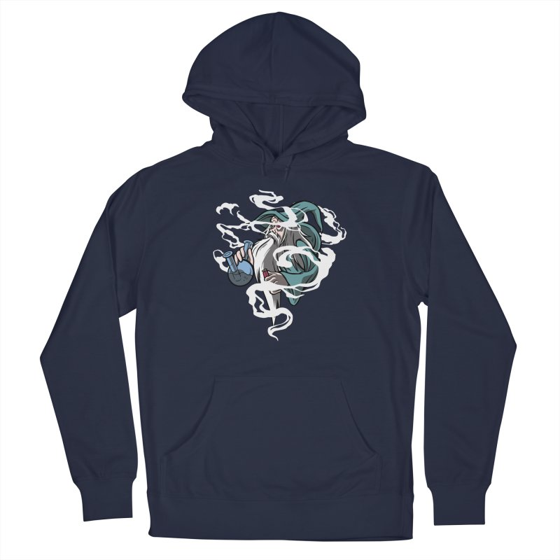 Bong Smoking Wizard Men's Pullover Hoody by Toxic Onion