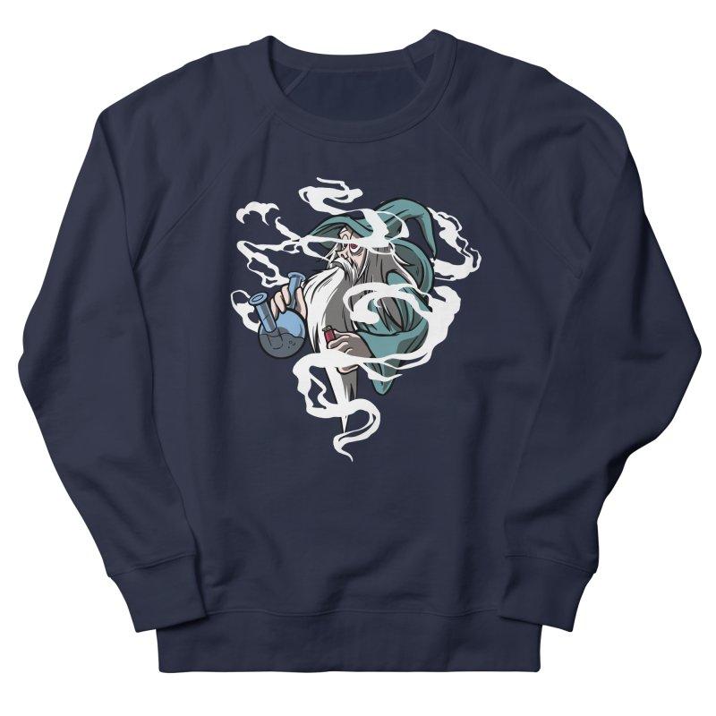 Bong Smoking Wizard Women's Sweatshirt by Toxic Onion