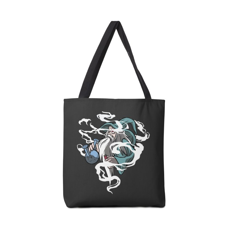 Bong Smoking Wizard Accessories Tote Bag Bag by Toxic Onion