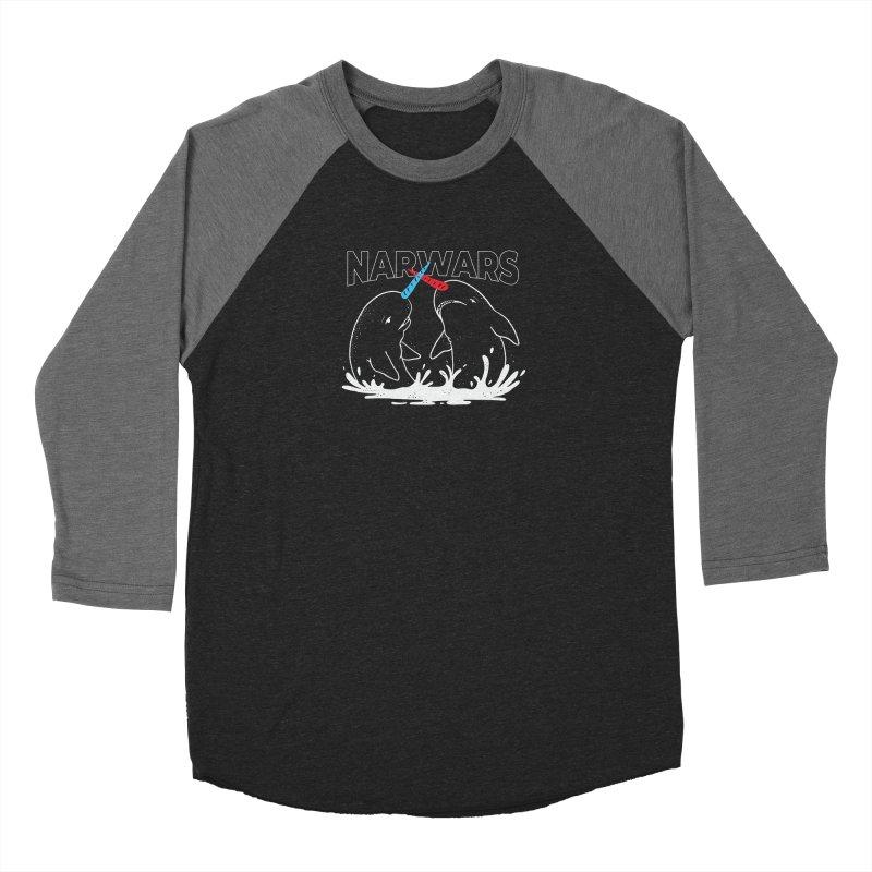 NarWars Women's Baseball Triblend Longsleeve T-Shirt by Toxic Onion