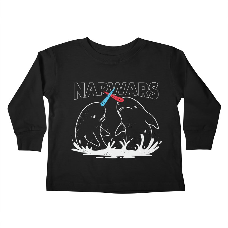 NarWars Kids Toddler Longsleeve T-Shirt by Toxic Onion