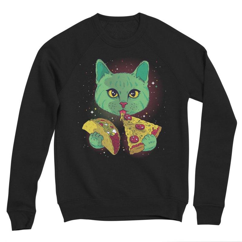 Taco Pizza Cat Women's Sweatshirt by Toxic Onion