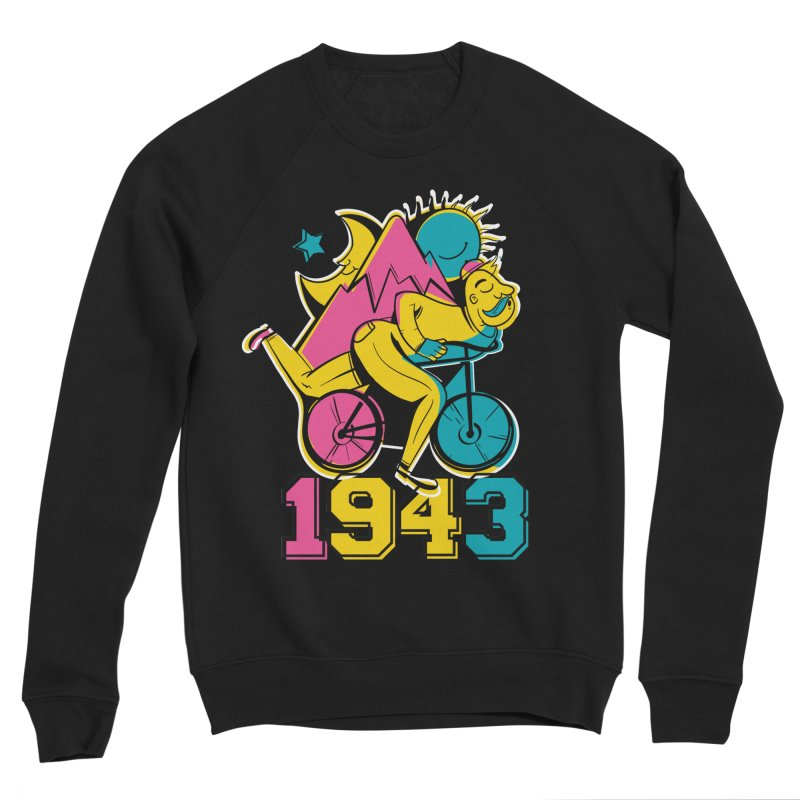 LSD Bicycle Day Women's Sweatshirt by Toxic Onion