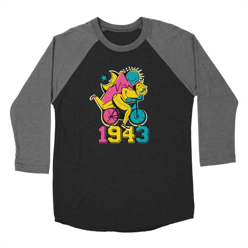 LSD Bicycle Day Men's Longsleeve T-Shirt by Toxic Onion