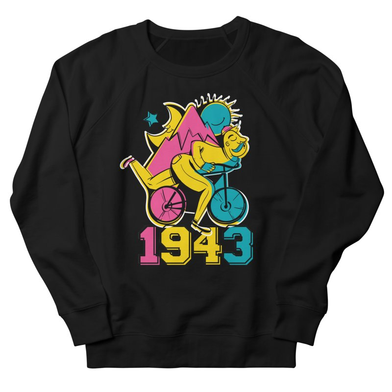 LSD Bicycle Day Men's Sweatshirt by Toxic Onion