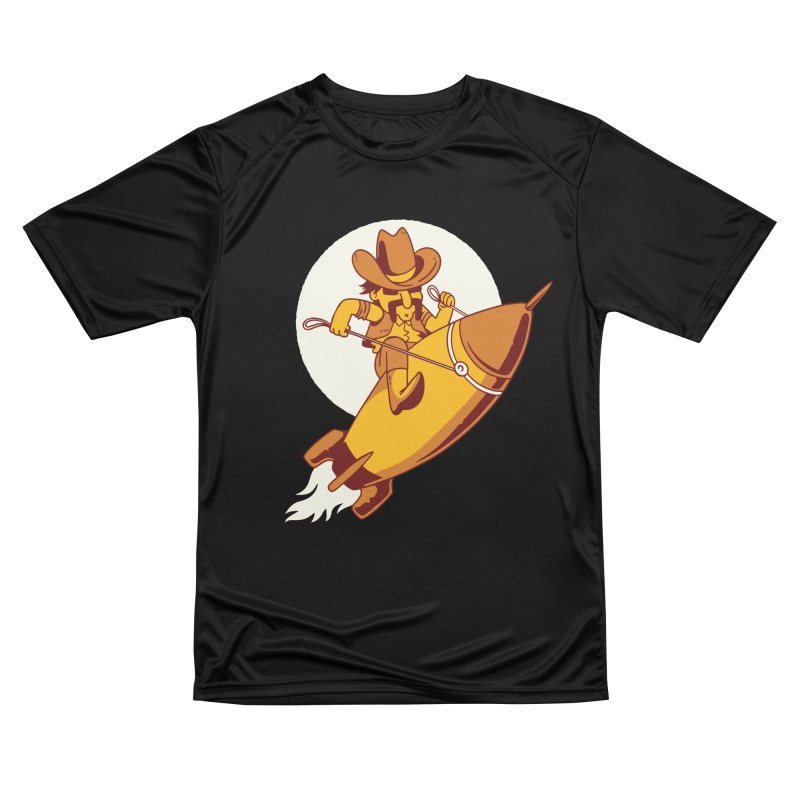 Space Cowboy Women's T-Shirt by Toxic Onion