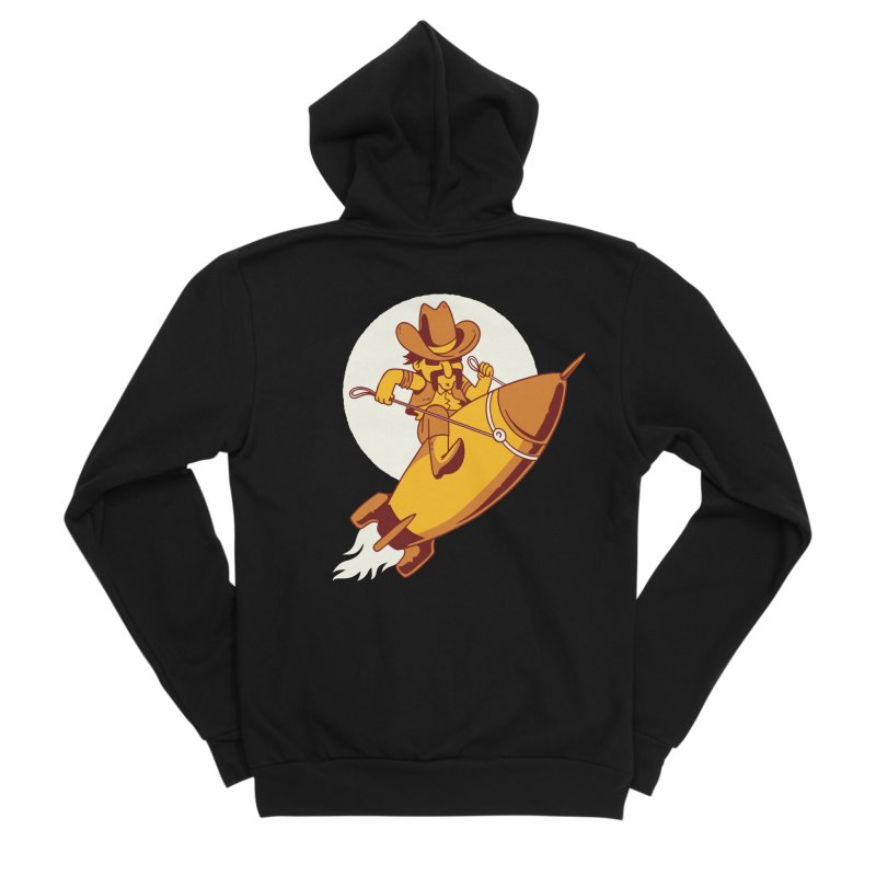 Space Cowboy Men's Zip-Up Hoody by Toxic Onion