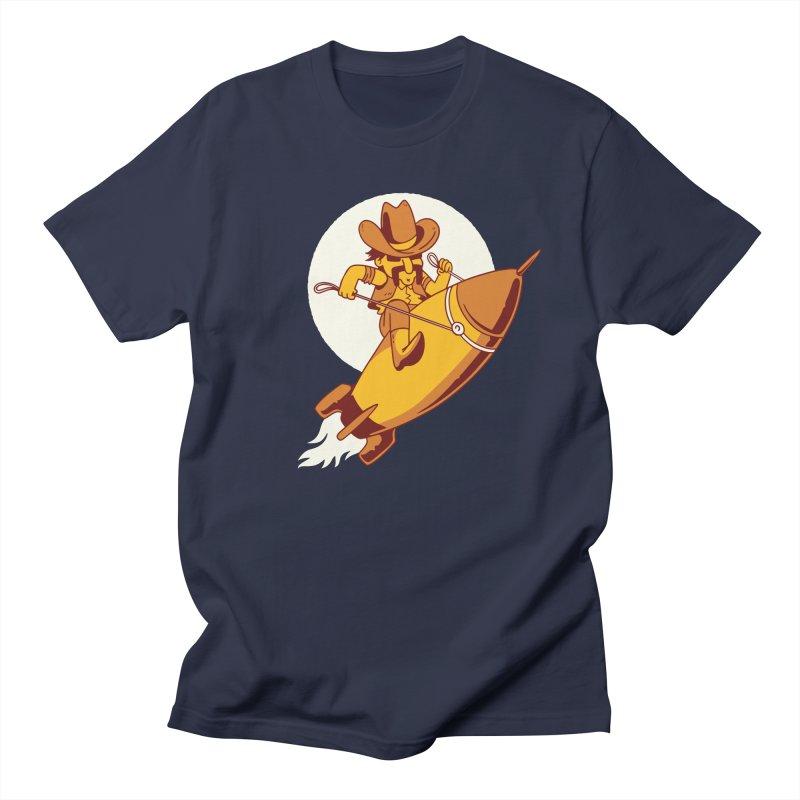 Space Cowboy Women's Regular Unisex T-Shirt by Toxic Onion