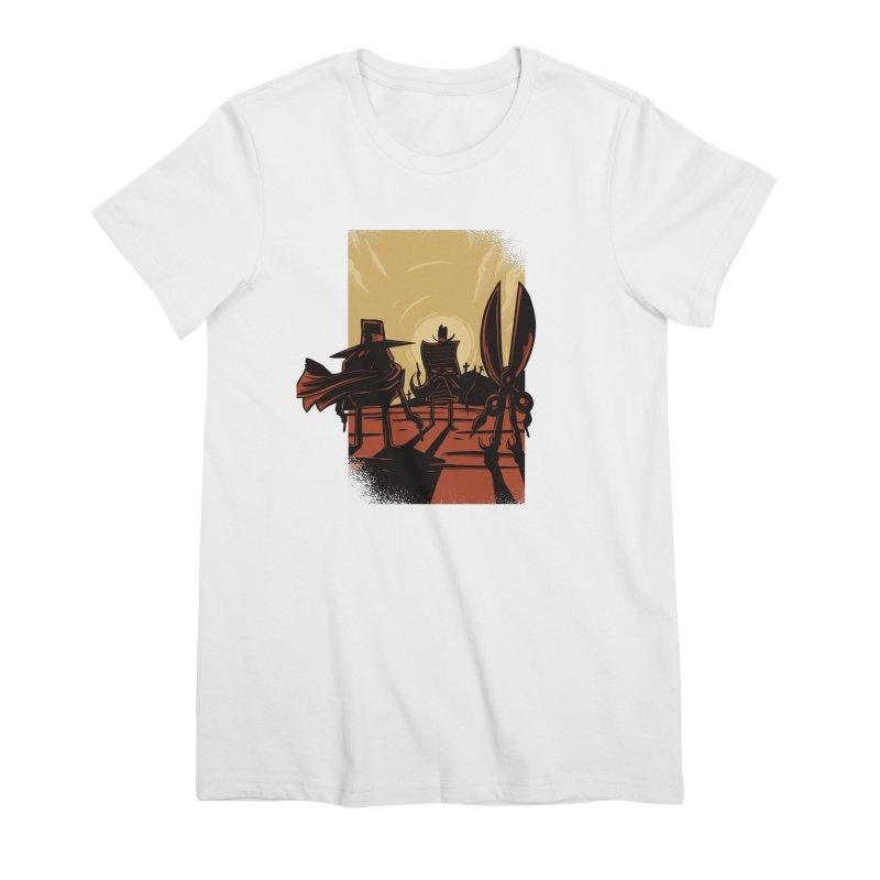 Rock Paper Scissors Women's Premium T-Shirt by Toxic Onion