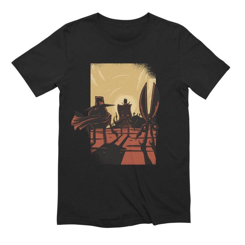 Rock Paper Scissors Men's Extra Soft T-Shirt by Toxic Onion