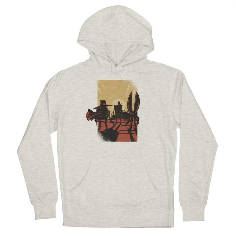 Rock Paper Scissors Men's Pullover Hoody by Toxic Onion