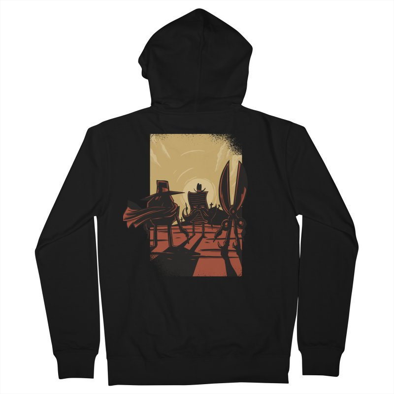 Rock Paper Scissors Men's Zip-Up Hoody by Toxic Onion