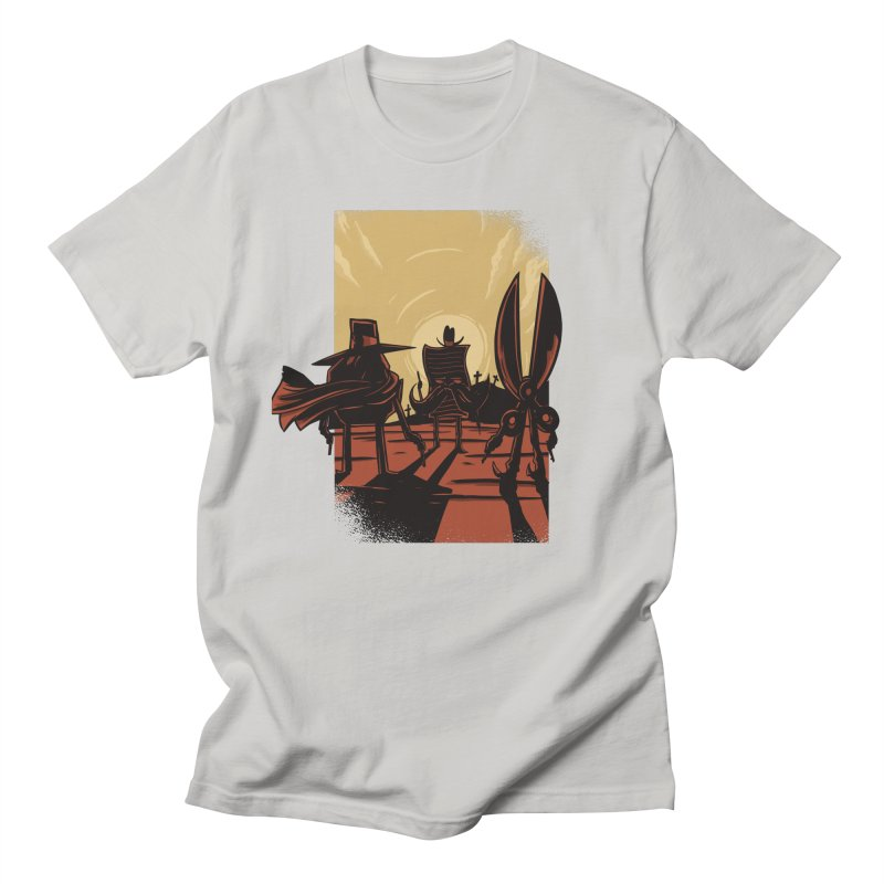 Rock Paper Scissors Men's Regular T-Shirt by Toxic Onion