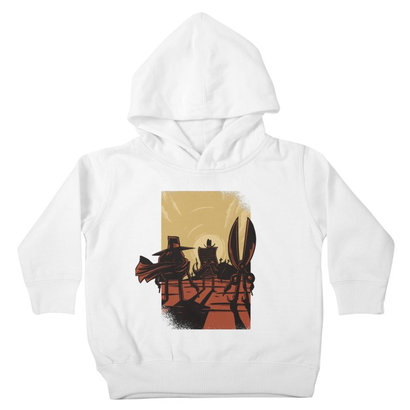 Rock Paper Scissors Kids Toddler Pullover Hoody by Toxic Onion