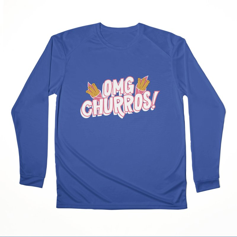 OMG Churros Men's Performance Longsleeve T-Shirt by Toxic Onion