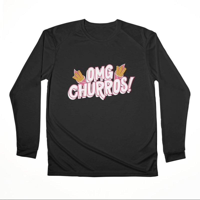 OMG Churros Women's Longsleeve T-Shirt by Toxic Onion