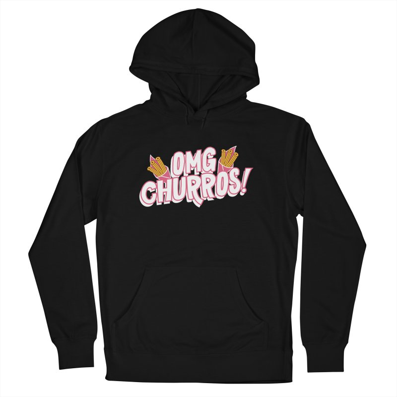 OMG Churros Men's French Terry Pullover Hoody by Toxic Onion
