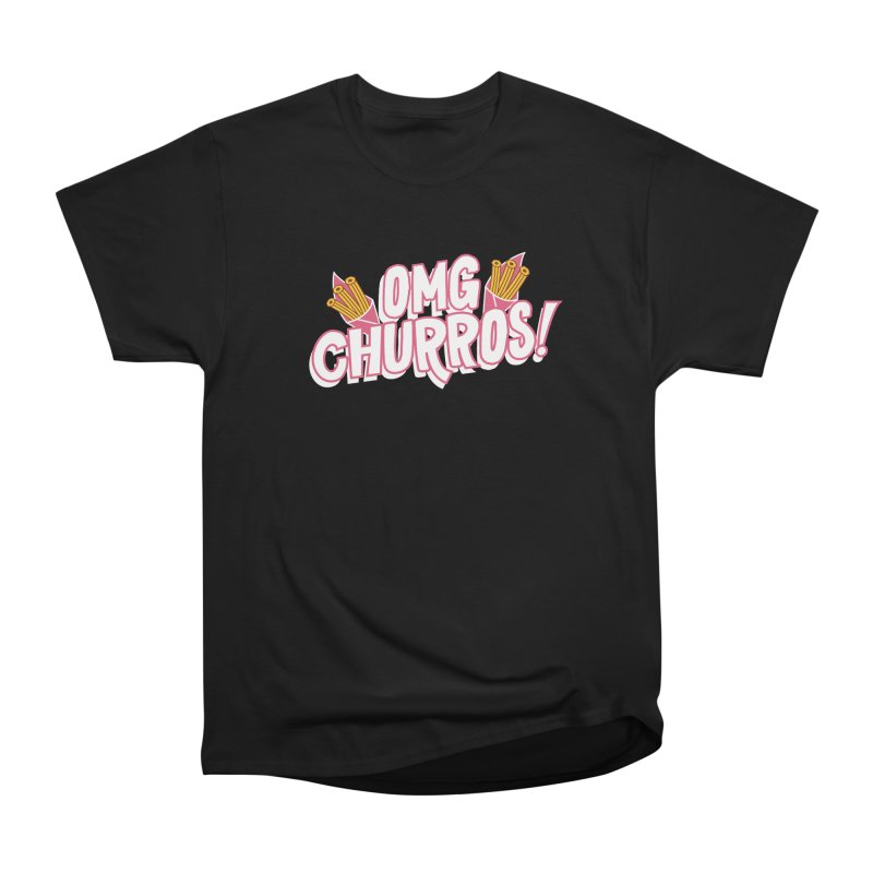 OMG Churros Men's Heavyweight T-Shirt by Toxic Onion